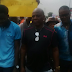 Photos: Charly Boy, Omoyele Sowore, join NLC, TUC officials in a protest in Lagos