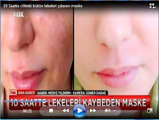 temizleyen cilt maskesi