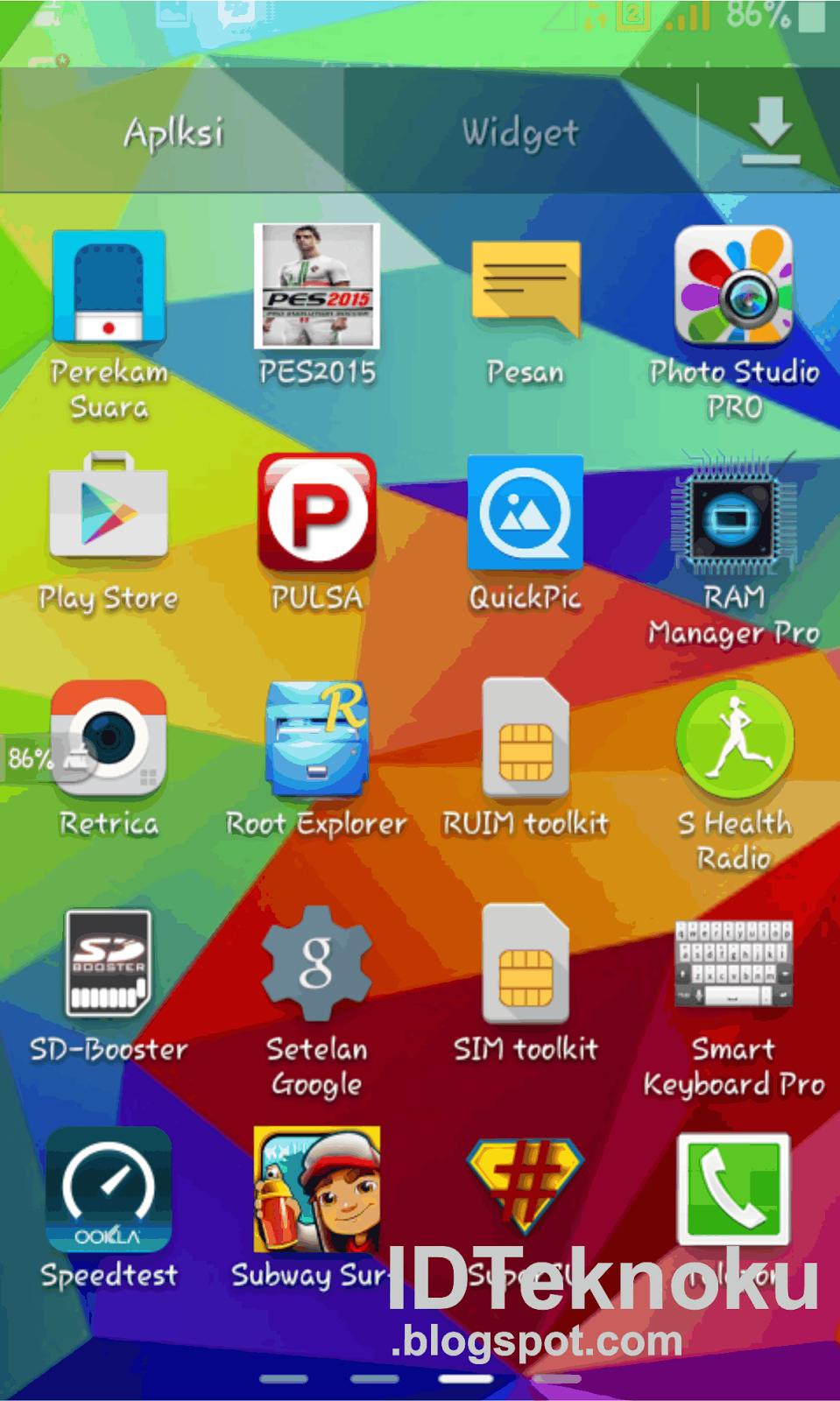 Meningkatkan Versi android ke 5.0