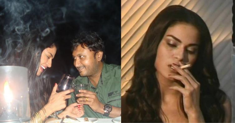 nia-sharma-at-party-drinking-alcohol