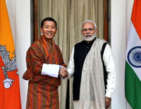 India Announces Rs. 4500 Cr Assistance to Bhutan For its Five Year Plan