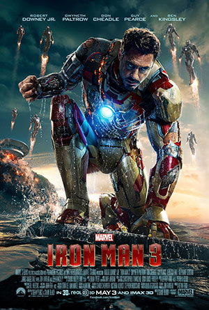 Iron Man 3 (2013) Download In Hindi Dubbed 300MB Worldfree4u