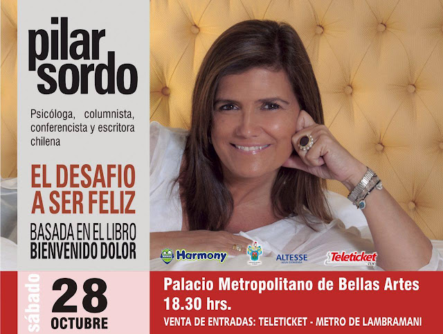 Pilar Sordo en Arequipa