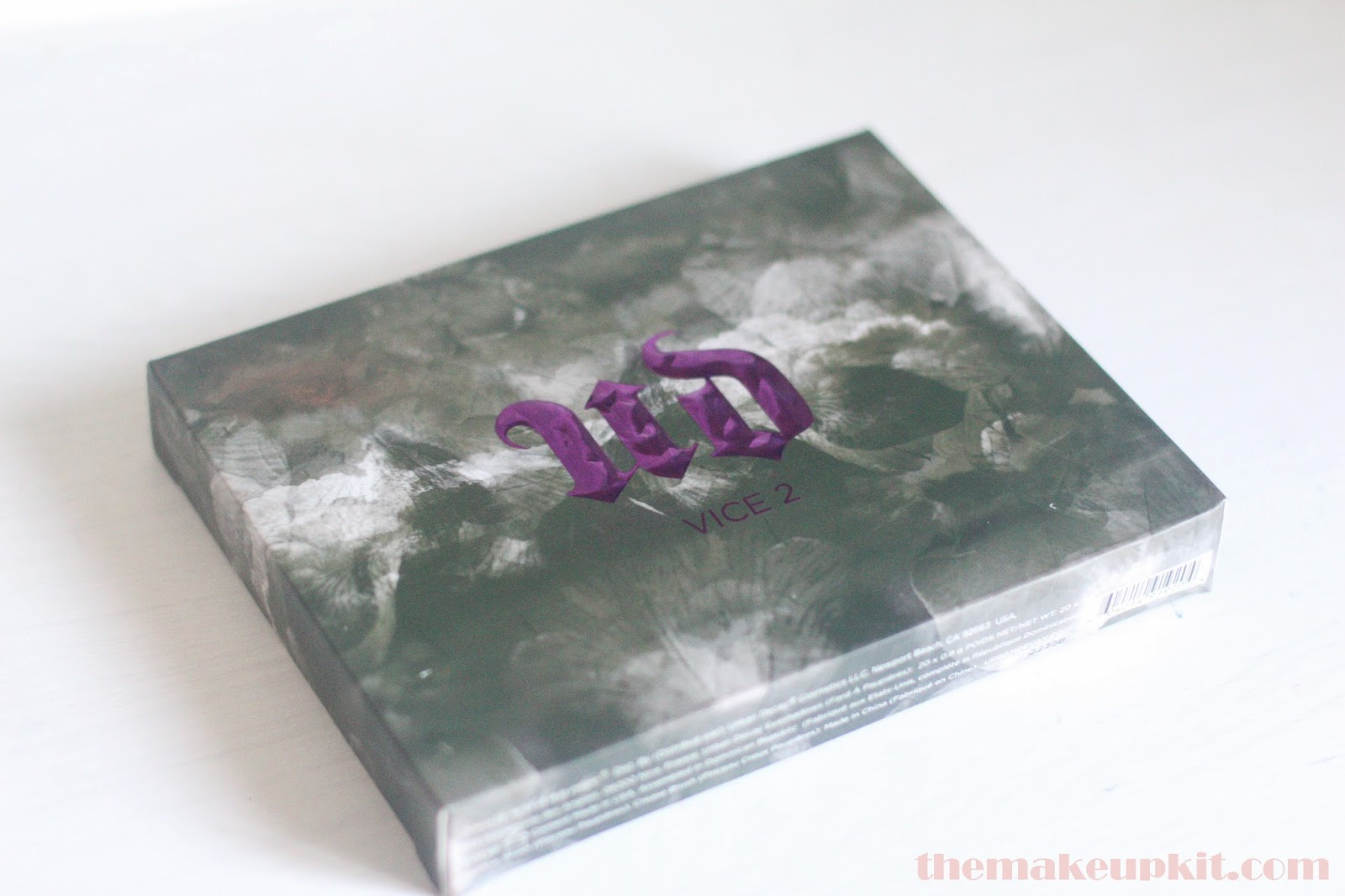 Urban Decay Vice 2 Palette Box Front