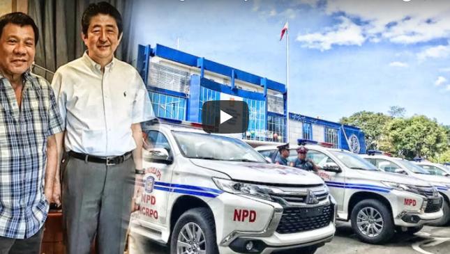 Wow! Maagang Pamasko Ng Japan Kay Duterte! Nagpadala Ng Sandamakmak Na Pulis Patrol Cars!