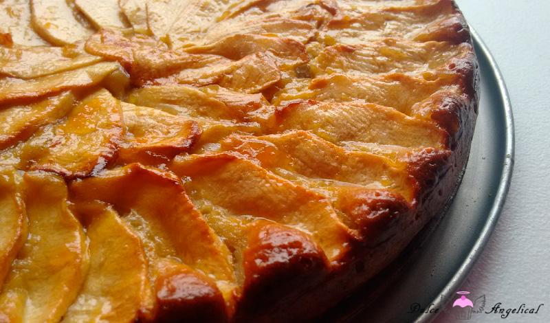 Deliciosa tarta de manzana fácil
