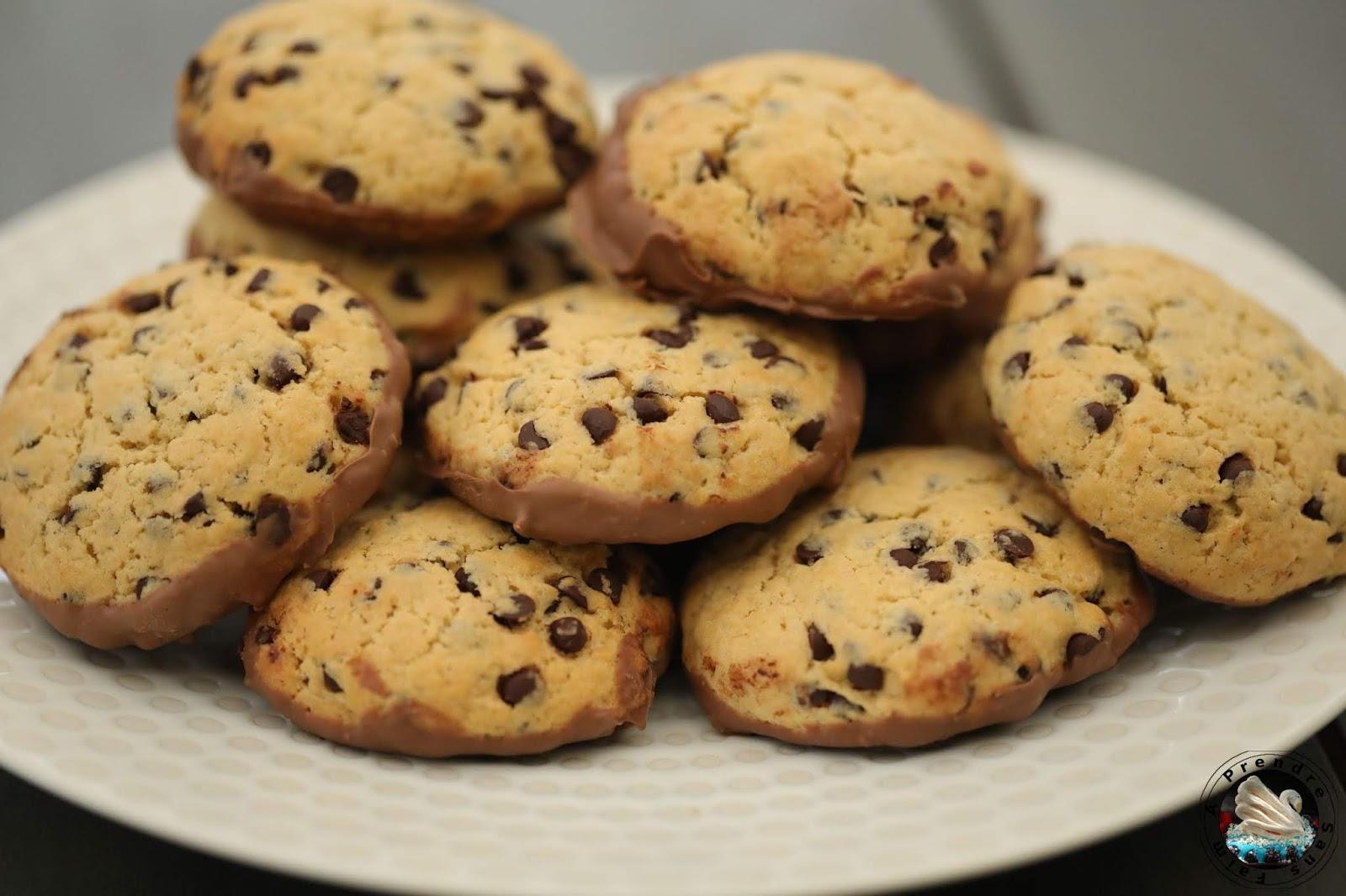 Cookies aux deux chocolats (pas à pas en photos)