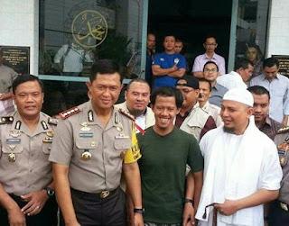 Nurul Fahmi Bebas, Dijemput Ustadz Arifin Ilham