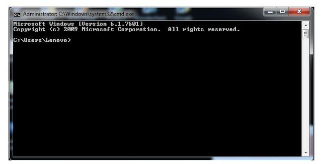 cara mengetahui password wifi cmd