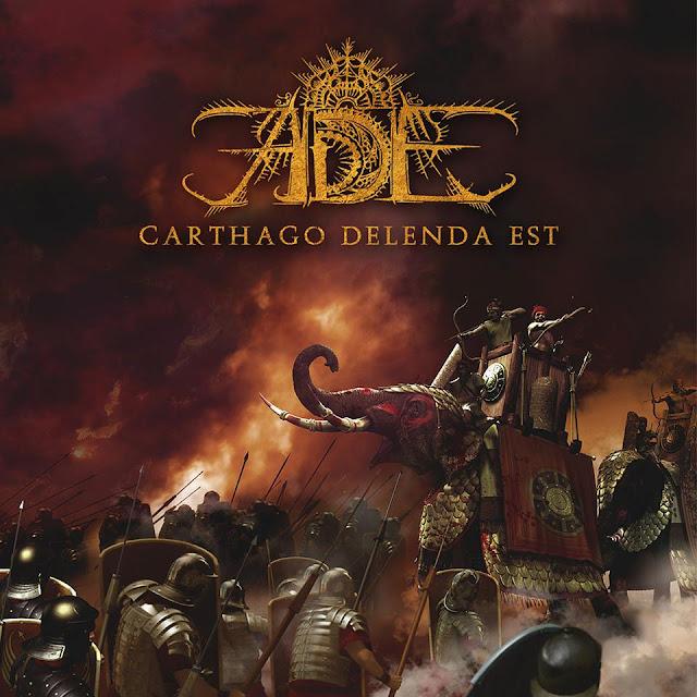 Detail from Ade New Album, Carthago Delenda Est, Detail from Ade New Album Carthago Delenda Est