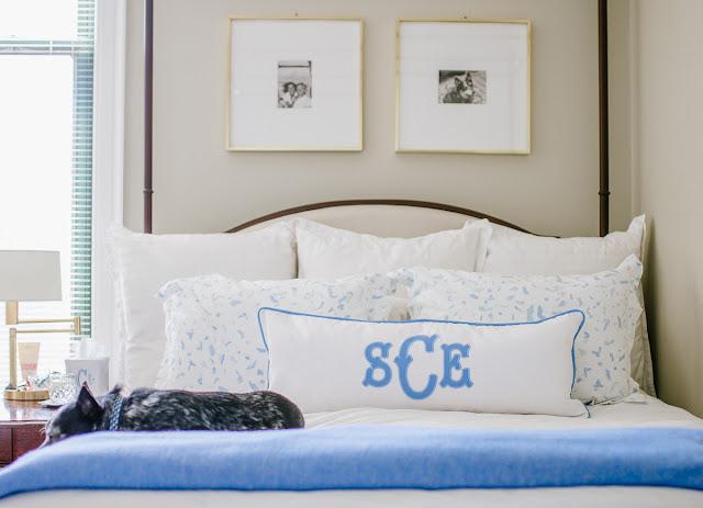 My Cornflower Blue Bedroom