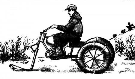 4-х колёсный Каракат Пневматик из, урала