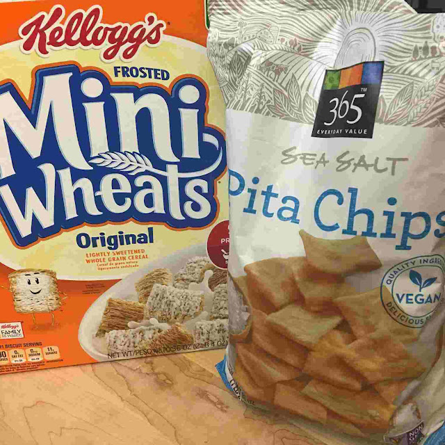 processed food chips cereal