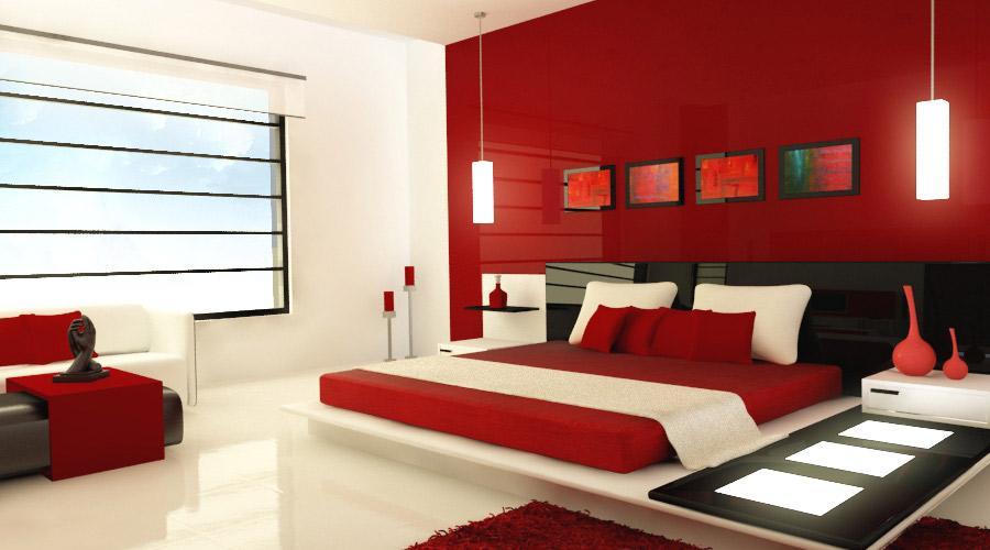 decoracao Red idéias quartos