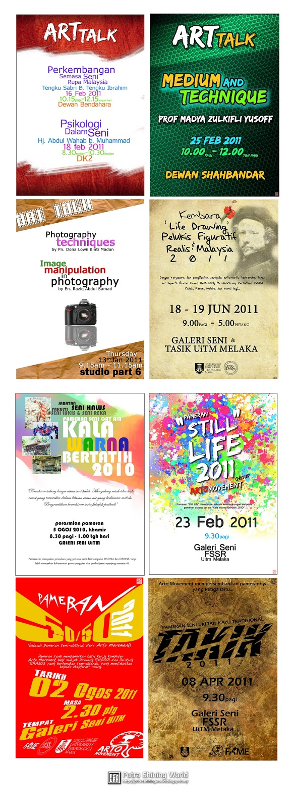 Poster Designs by Putra Shining