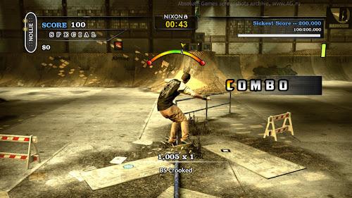 Screen Shot Of Tony Hawks Pro Skater HD (2012) Full PC Game Free Download At worldfree4u.com