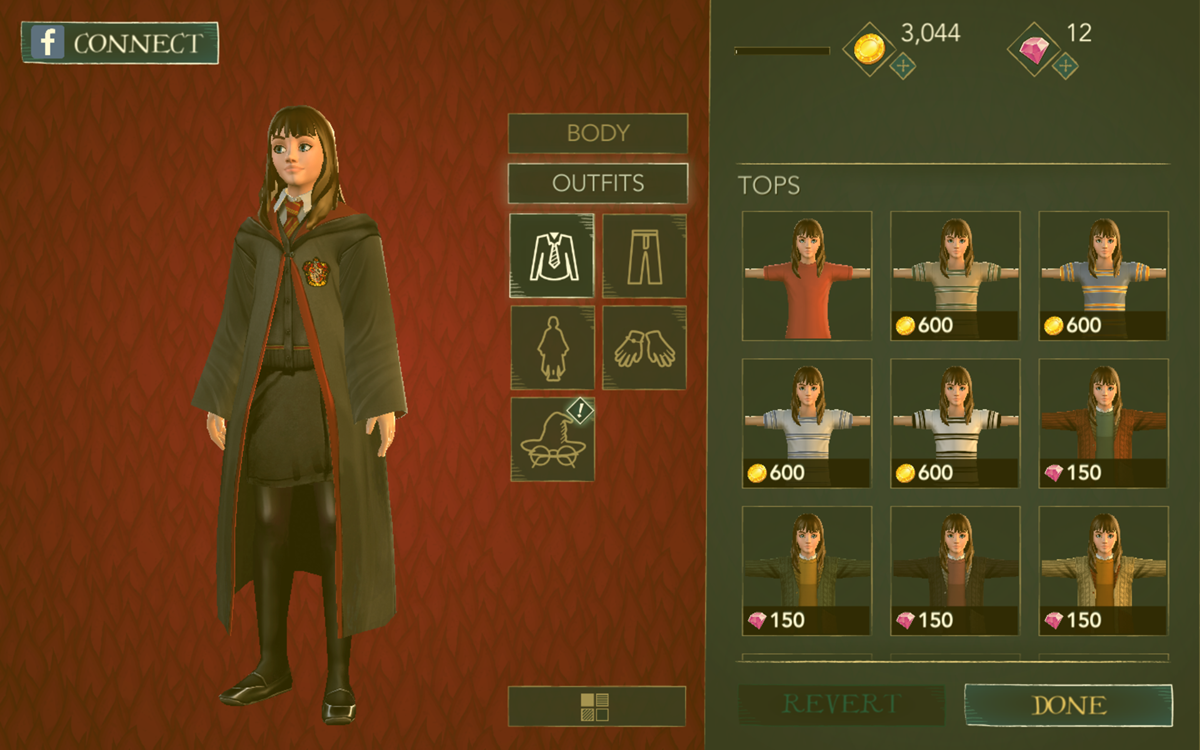 Hasil gambar untuk harry potter hogwarts mystery karakter