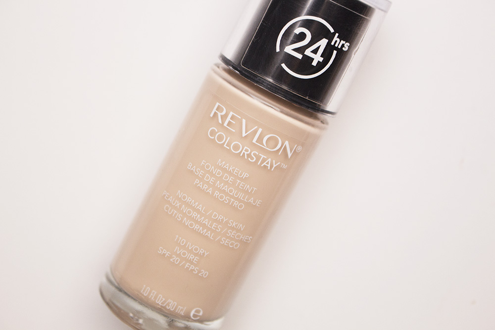Revlon Colorstay Foundation for Normal/dry skin in 110 Ivory