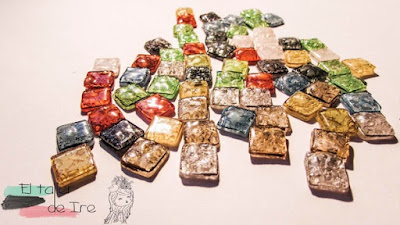 DIY - fazer pastilhas de mosaico reciclando cds