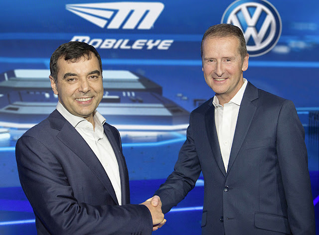 B&E | On the Way: Revolutionary Navigation Standard by Volkswagen and Mobileye