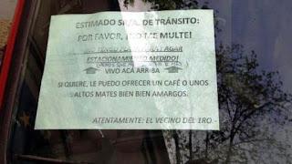 Se trata de un automovilista de Mar del Plata que vive en una calle donde se cobra estacionamiento medido