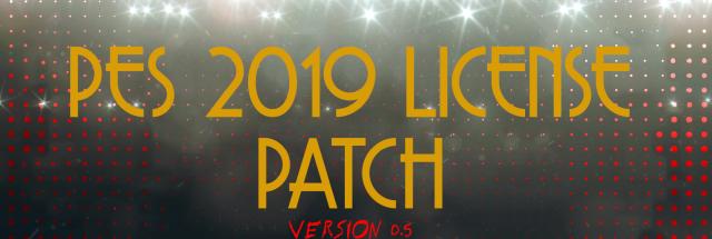 PES 2019 Licence Patch V0.5