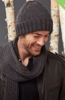 http://www.yarnspirations.com/pattern/knitting/mens-basic-hat-and-scarf-set