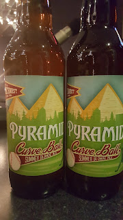 Mybeerbuzz .com Highlights Pyramid Curve Ball Summer Blonde Ale