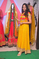 Pujitha in Yellow Ethnic Salawr Suit Stunning Beauty Darshakudu Movie actress Pujitha at a saree store Launch ~ Celebrities Galleries 049.jpg