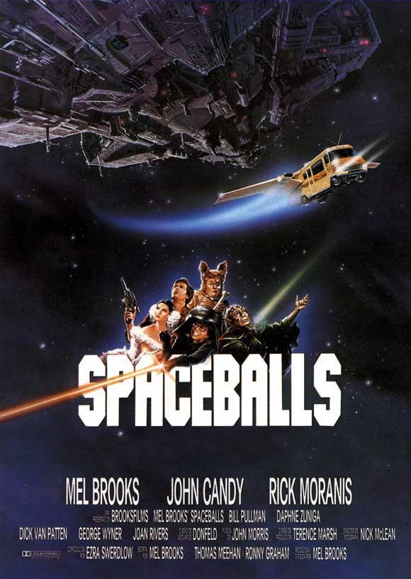 kosmiczne jaja film recenzja mel brooks bill pulman gwiezdne wojny parodia