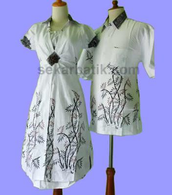 Batik Couple Modern Dalam Aneka Model Baju Batik Terbaru