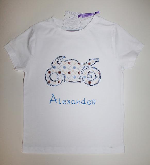 camiseta moto personalizada