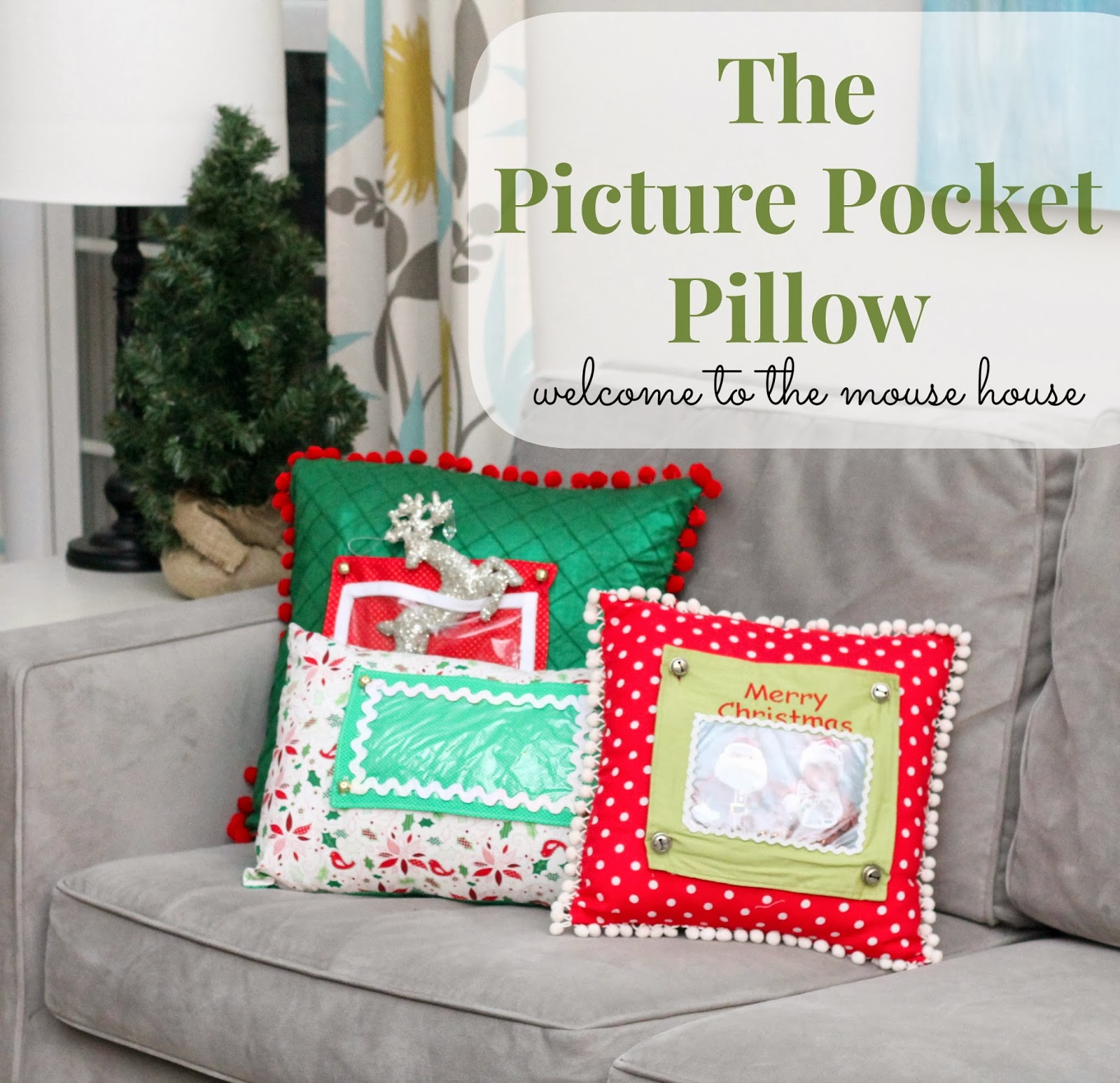 The Picture Pocket Pillow: Tutorial ...