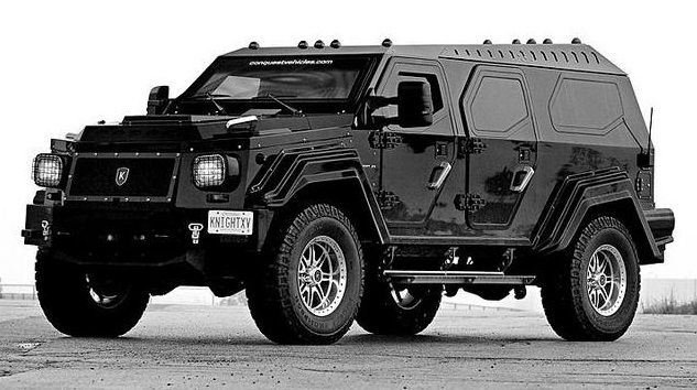Knight Xv Armored Most Expensive Suv Side