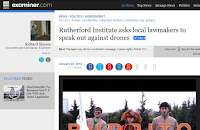 Rutherford Institute Charlottesville drones