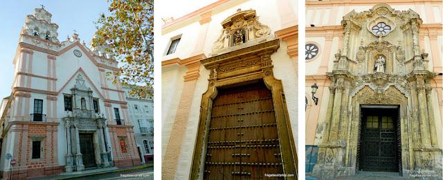 Igrejas de Cádiz, Andaluzia