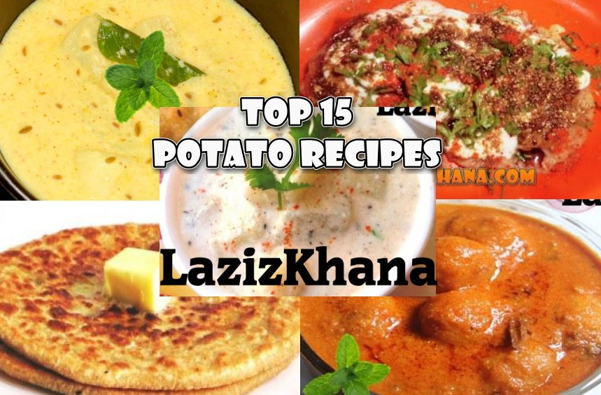 Top 15 Potato Recipes - आलू की टॉप 15 रेसिपी.