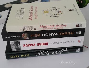 Yeni kitaplarım...