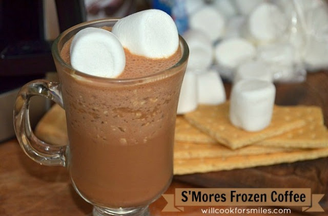 S'Mores Frozen Coffee from Will Cook For Smiles