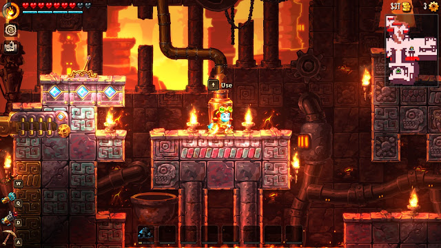 SteamWorld Dig 2 Screenshot