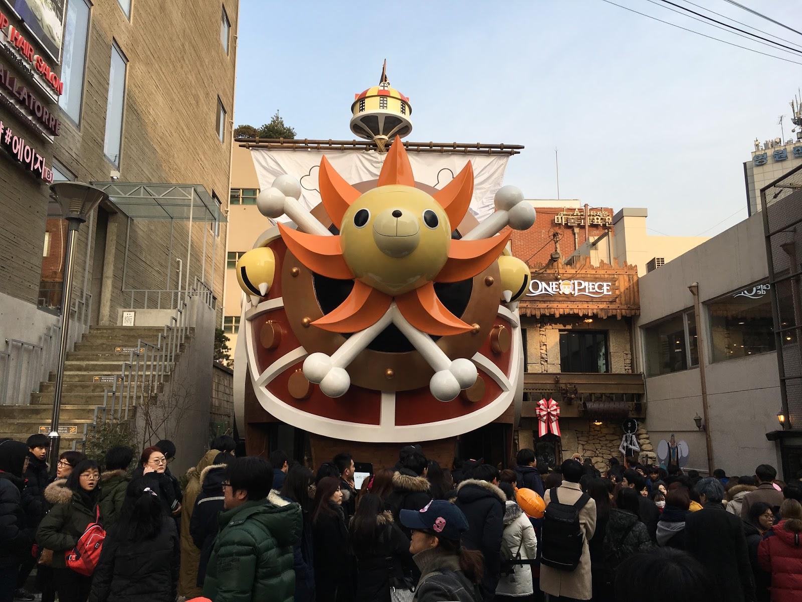 Cafe de One Piece - Hongdae One Piece Themed Cafe - Mini en Monde