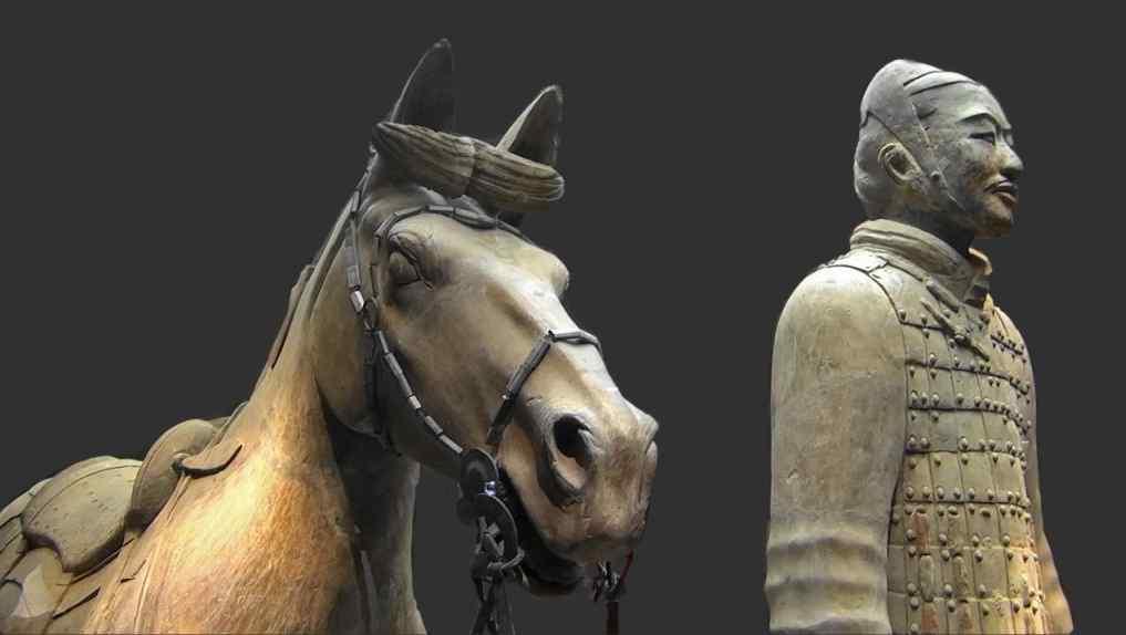 Terracotta soldier horse
