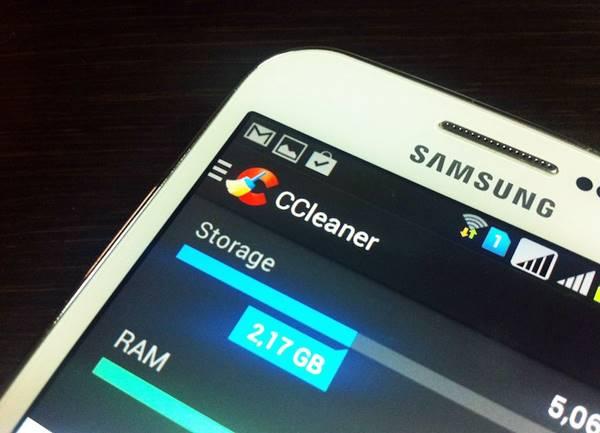 Economize a memória interna no Android com o CCleaner para Android