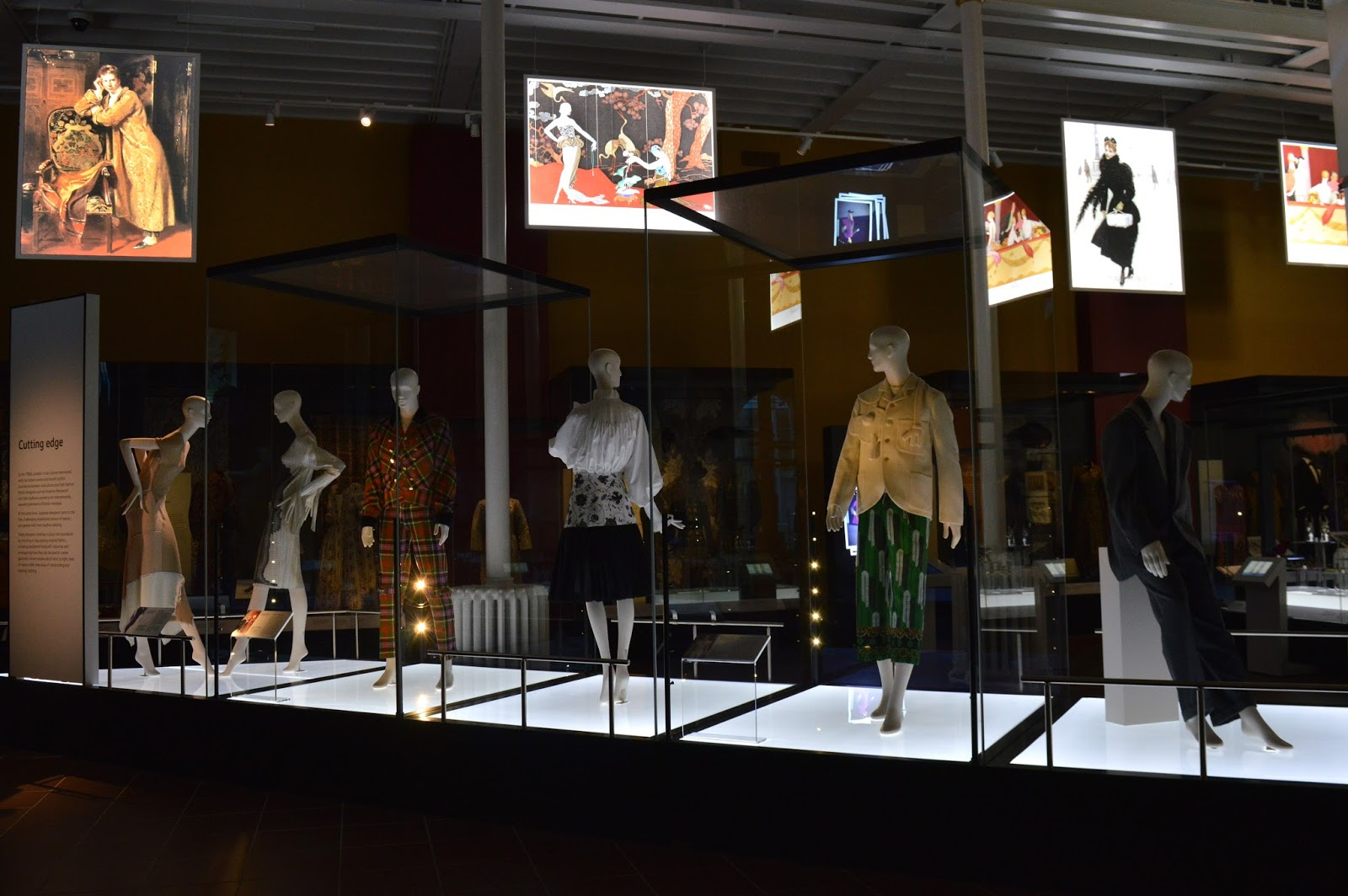 The National Museum of Scotland Fashion Exhibition