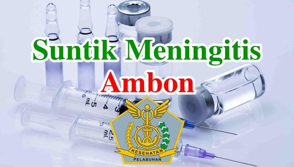 Alamat Tempat Suntik Vaksin Meningitis di Ambon