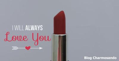 Blog Charmosando, batom e autoestima, batom vermelho da yes