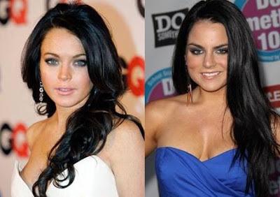 Jojo And Lindsay Lohan Look Alike