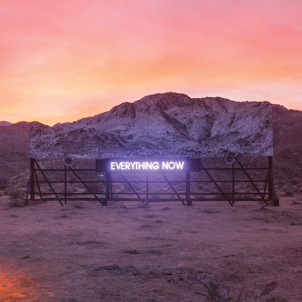 Arcade Fire - Everything Now Cover