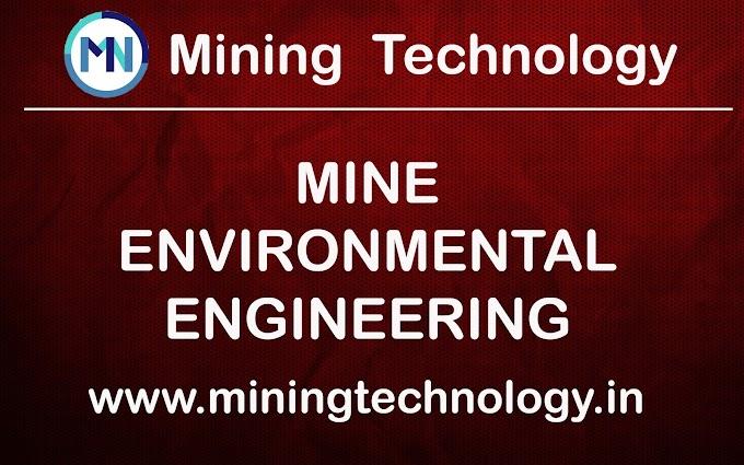 DMNG  MINE ENVIRONMENTAL ENGINEERING