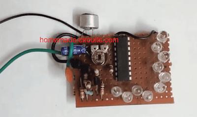 vibration detector circuit prototype